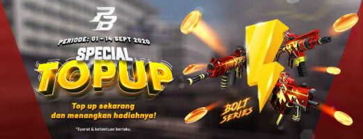 Event Spesial Top Up September Dari Pointblank Codashop Blog Id
