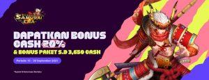 Bonus Samurai Cash