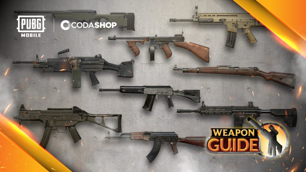 PUBG Weapon Guide