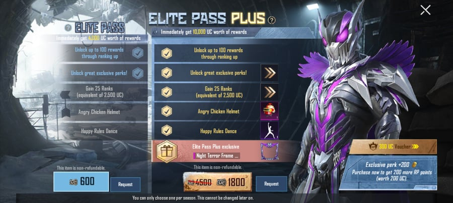 Elite Pass Plus