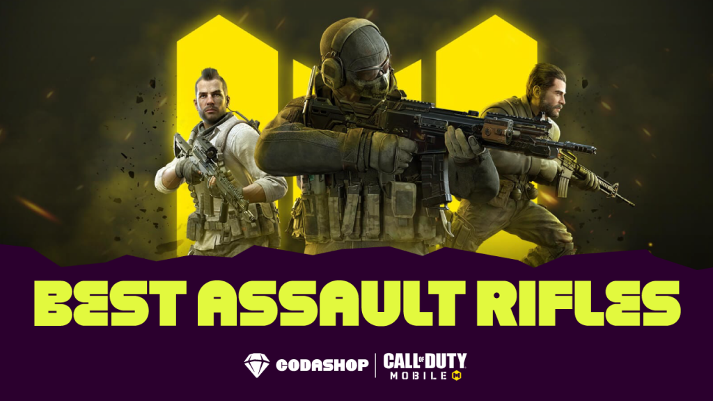 Best Assault Rifles in Call of Duty Mobile