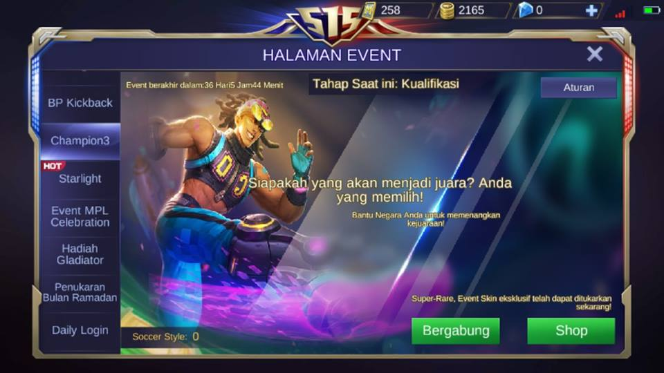 Nuansa Piala Dunia Di Update Mobile Legends