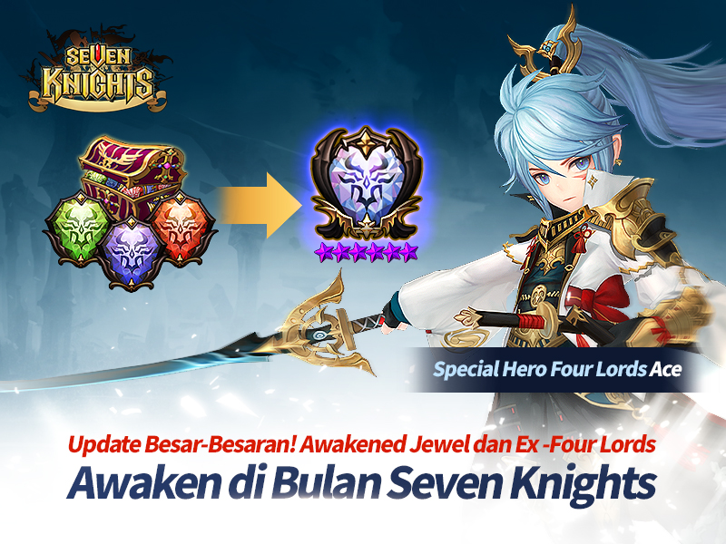 Update Awaken Special Hero Heavenly Sword Ace