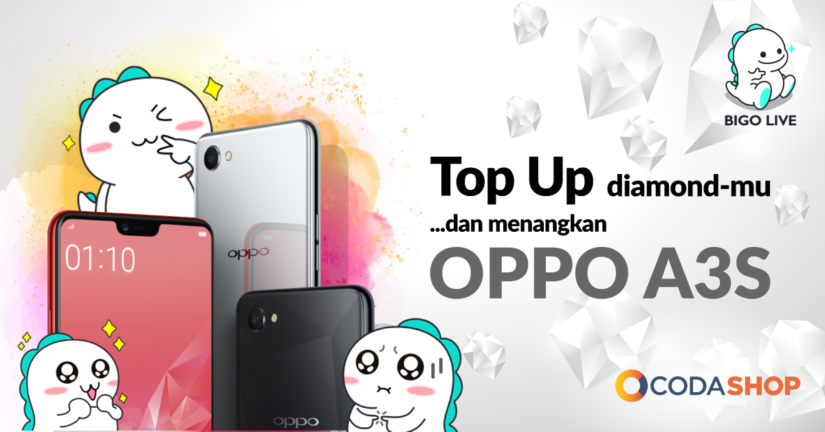 Top-Up Diamond Bigo Via Bank & Alfamart