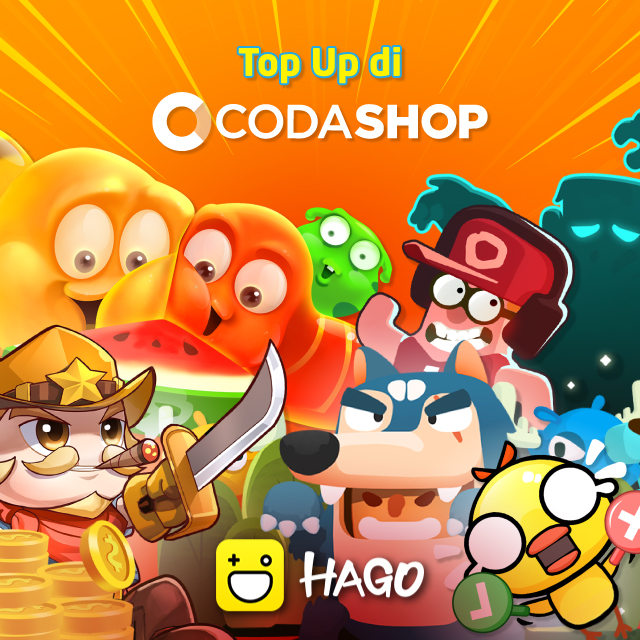 Top-up Diamond Hago Kamu Di Codashop